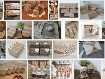 Rustic Bridesmaid Gifts